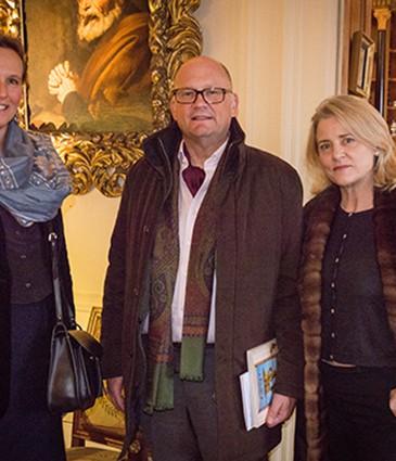 Prioritaire - de G à D - Elisabeth Janssens - Franz et Danielle De Planta