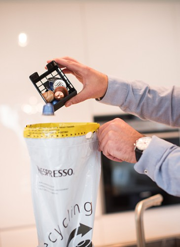 Nespresso _Recycling at home_ 8