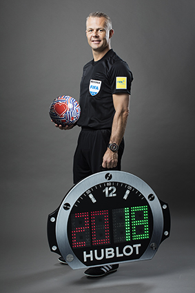 Björn Kuipers - FIFA Referee with the Big Bang Referee 2018 FIFA World CupTM