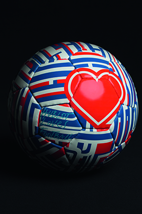 Hublot Loves Football designed by Andrey Bartenev