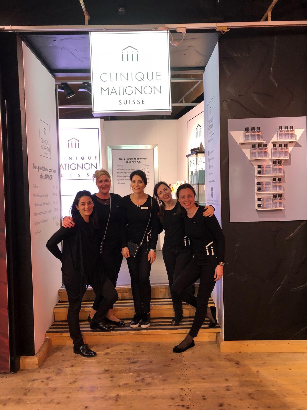 Pop-Up Store «My Beauty Doctor», la Clinique Matignon au Manor de Lausanne