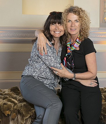 Jessica Colson & la photographe Elisabeth Fransdonk