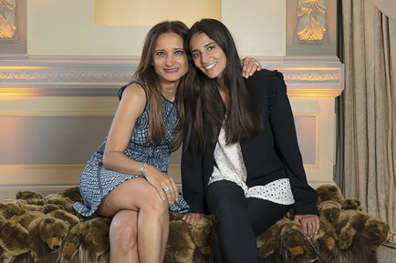 Layal et Dana Kaufeler