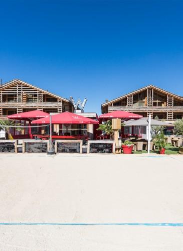 W Verbier - The Beach