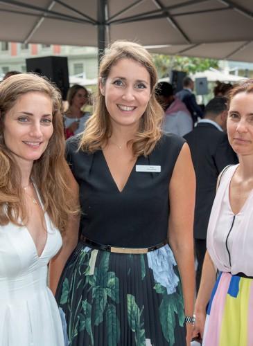 Alix Castelli, Anne Terrier, Céline Piguet Grand