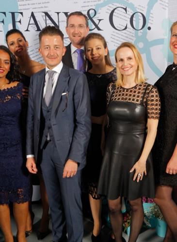 Sébastien Moyer et son équipe (Boutique Tiffany&Co Genève)_traité