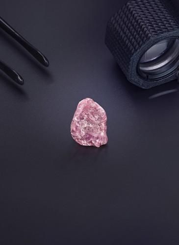 Pink Diamond_13 33ct_Black Still_Loop