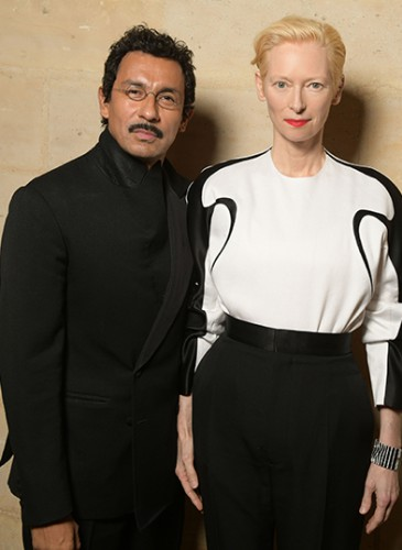Haider Ackermann & Tilda Swinton