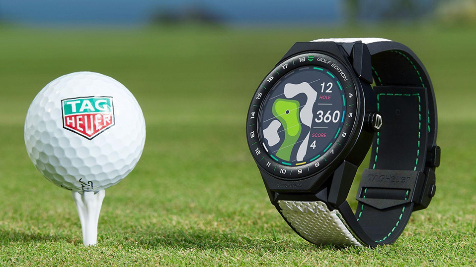 TAG Heuer sur le green