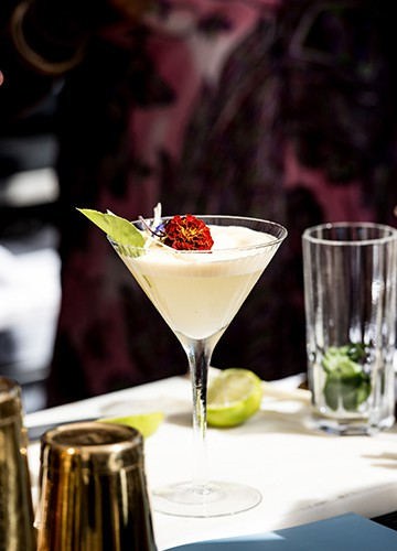 cocktail White princess