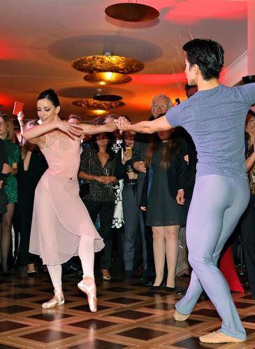 Geneva Dance Events - Les principaux danseurs du Ballet Béjart : Bianca Stoicheciu et Jiayong Sun - Duo du Ballet