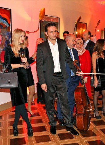 Dan Sloutkovski Soliste du Geneva Chamber Orchestra