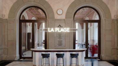 «Le Café de La Plage» la nouvelle adresse gourmande du Grand Théâtre de Genève.