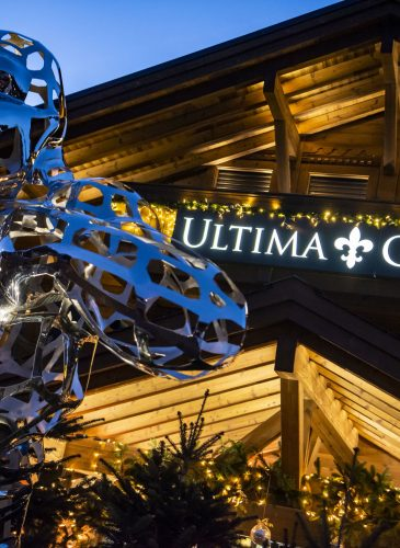 Ultima Gstaad Hotel Entrance