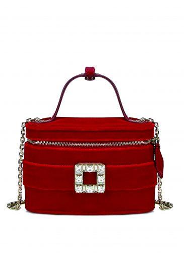 Roger Vivier Spring-Summer Collection 2020 - Roger vivier vanity bag micro Red- HD CMJN