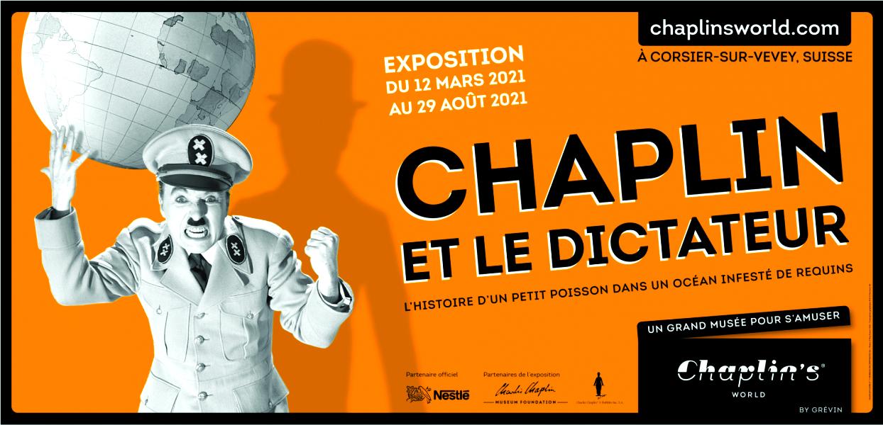 Chaplin et le dictateur : Exposition événement