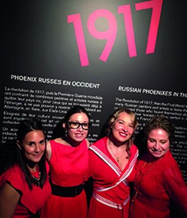1. Collaboratrices de la Galerie Artvera's