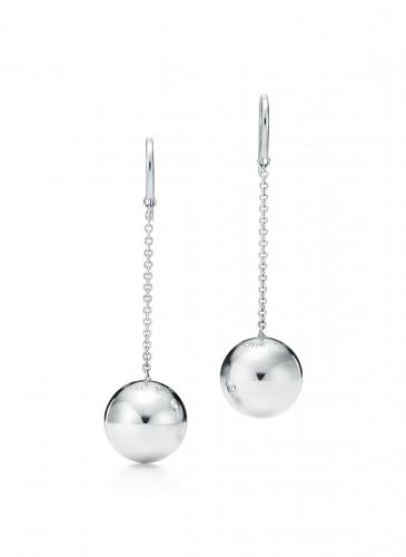 Tiffany City HardWear Bead Hook Earrings in Sterling Silver