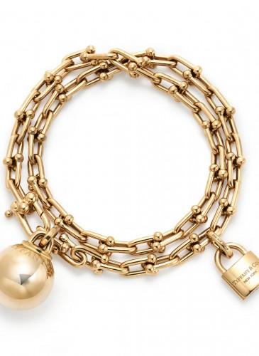 Tiffany City HardWear Chain Wrap Bracelet in 18K Yellow Gold
