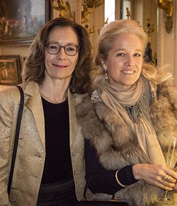 de G à D - Delphine Buchel - Nadine Buchanan-Michaelson
