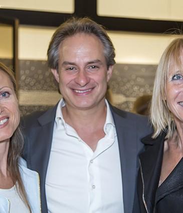Belinda Maurin et son époux Karim Hulin (Dermaup), Coco Tache