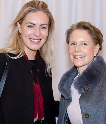 Céline Bachelet et Nicola Mustad