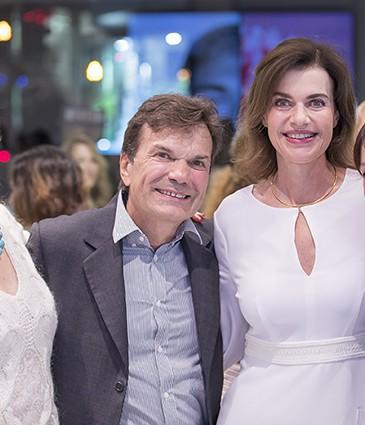 Dr. Véronique Bani, Dr. Luigi L. Polla et Dr. Sophie Menkes (Forever), Marie Fritsch (Merz Pharma)