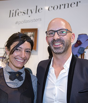 Sonia Snoussi (La Bourgeoise de Renens), Valéry Colin