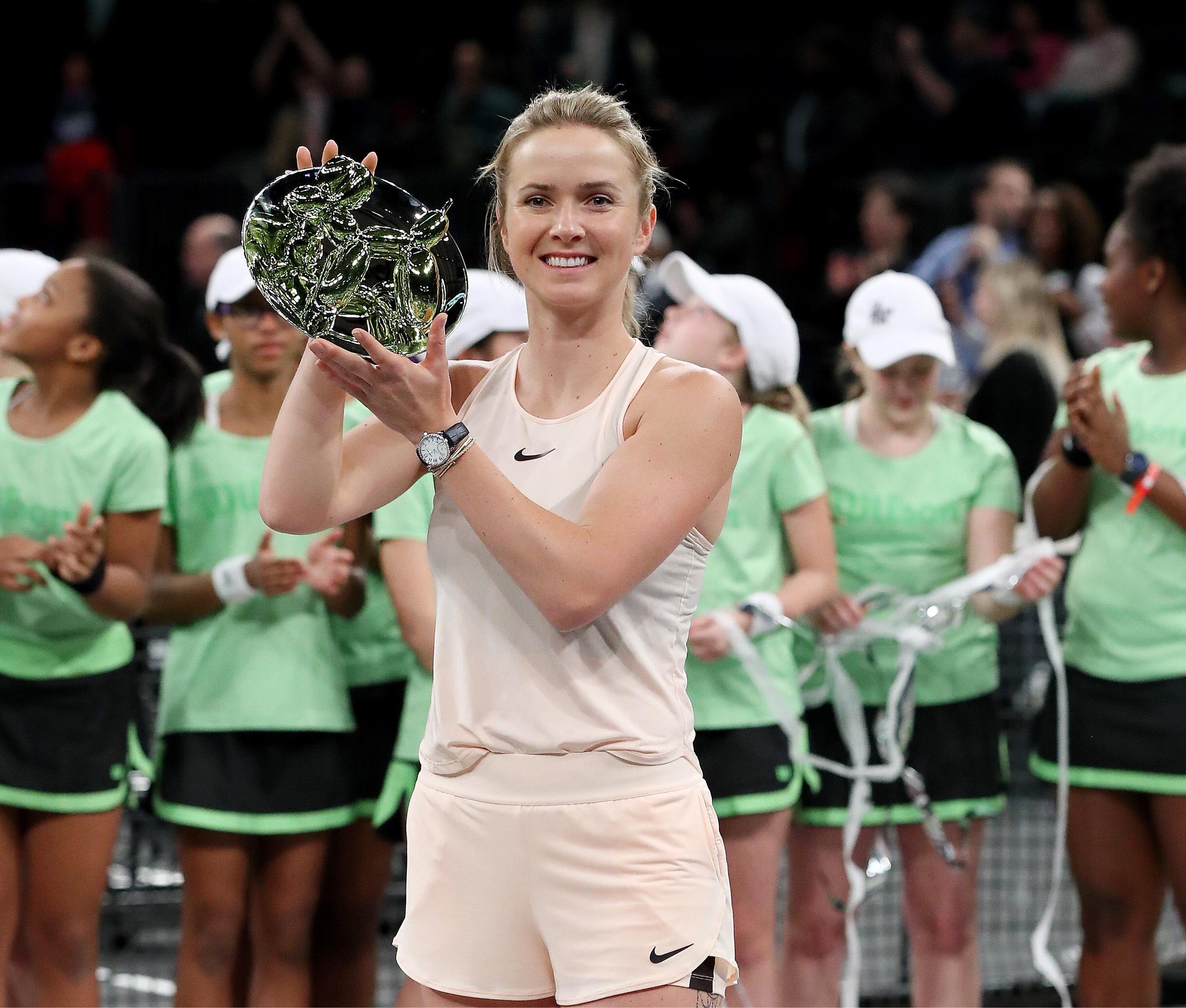 Elina Svitolina fait sensation à NYC et rafle le trophée du Tie Break Tens !