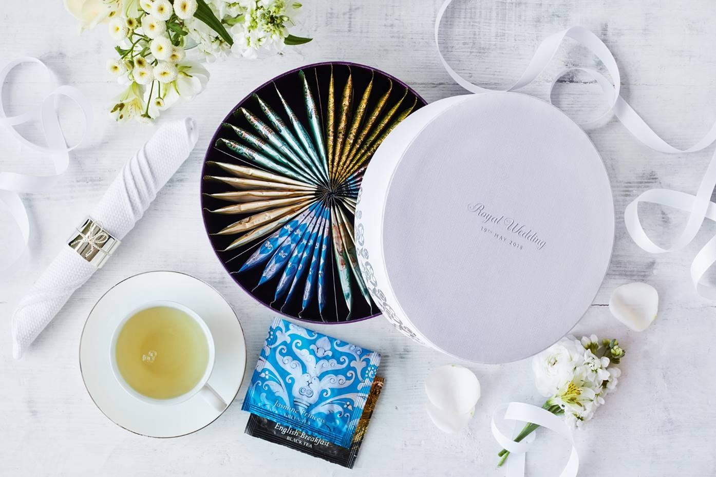 Un coffret de thé collector pour célébrer le « Royal Wedding »
