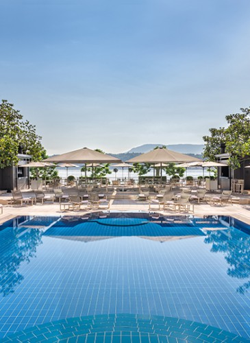 Poolgarden terrace 2017