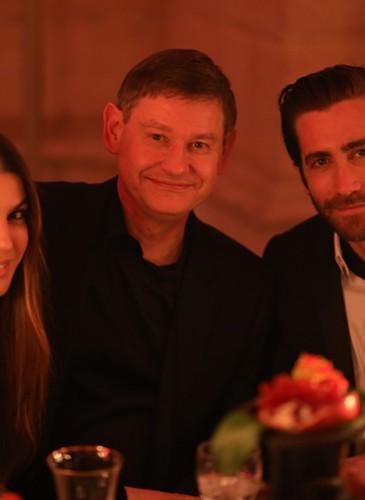 Bianca Brandolini, cyrille Vigneron & Jake Gyllenhaal