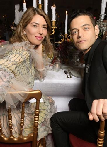 Sofia Coppola & Rami Malek
