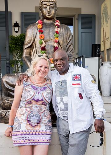 Chantal and Jérôme Aka Béda