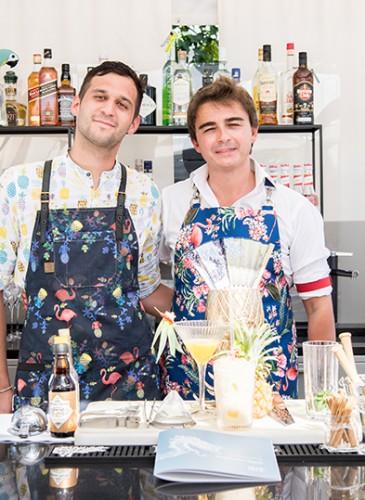 Mixologists Ruben Pozzato and Francesco Galdi