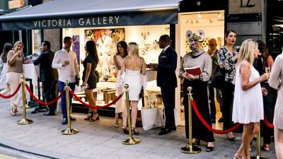 «Summer closing» à la Victoria Gallery