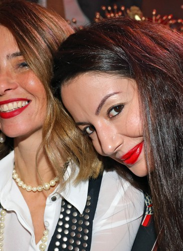 Une invitée L.RAPHAEL & Yasmina Dashishah