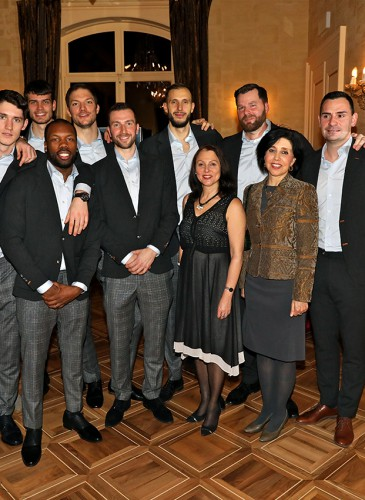 Les Lions de Genève avec Aviva Raz Shechter, Ambassadrice d'Israël et Silvia Elena Alfaro Espinosa, Ambassadrice du Pérou