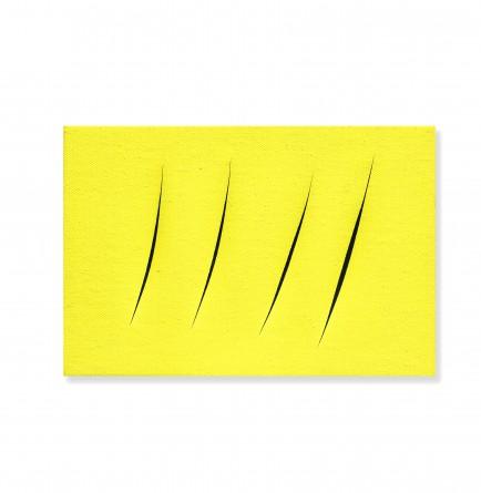 Lucio Fontana Concetto Spaziale, Attese, 1960 Vendu : £ 363'166 (CHF 457'830, incl. Premium) Post-War & Contemporary Art, Londres, le 3 octobre 2019