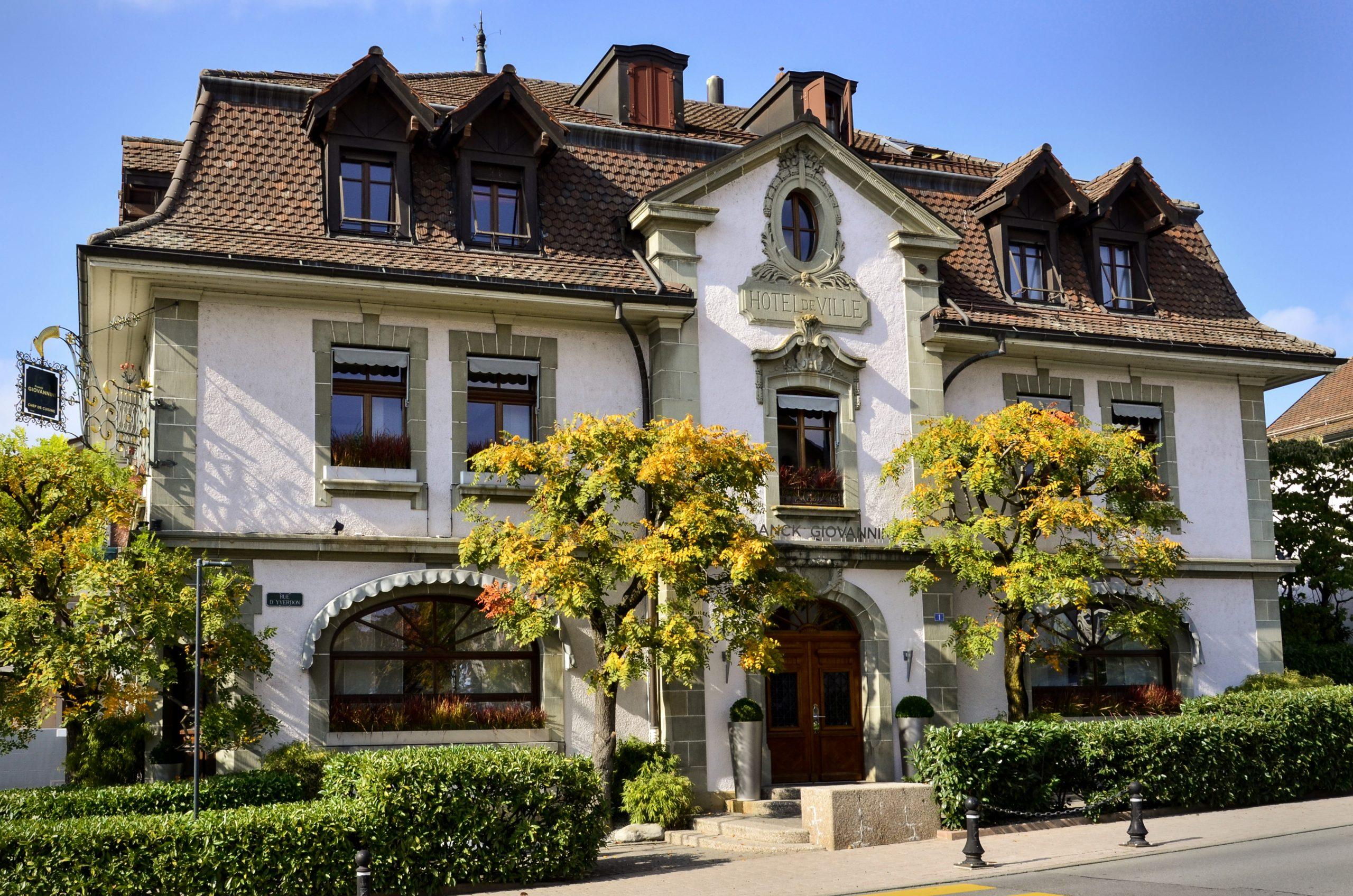 Le Restaurant de l'Hôtel de Ville à Crissier, nouveau membre Relais & Châteaux