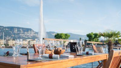 « Båd by Fiskebar » la nouvelle terrasse flottante de Genève !