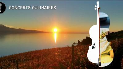 Lancement de la première édition des Concerts Culinaires de Chardonne
