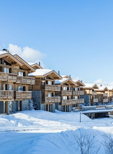 Ultima Courchevel - Outdoor Resort View