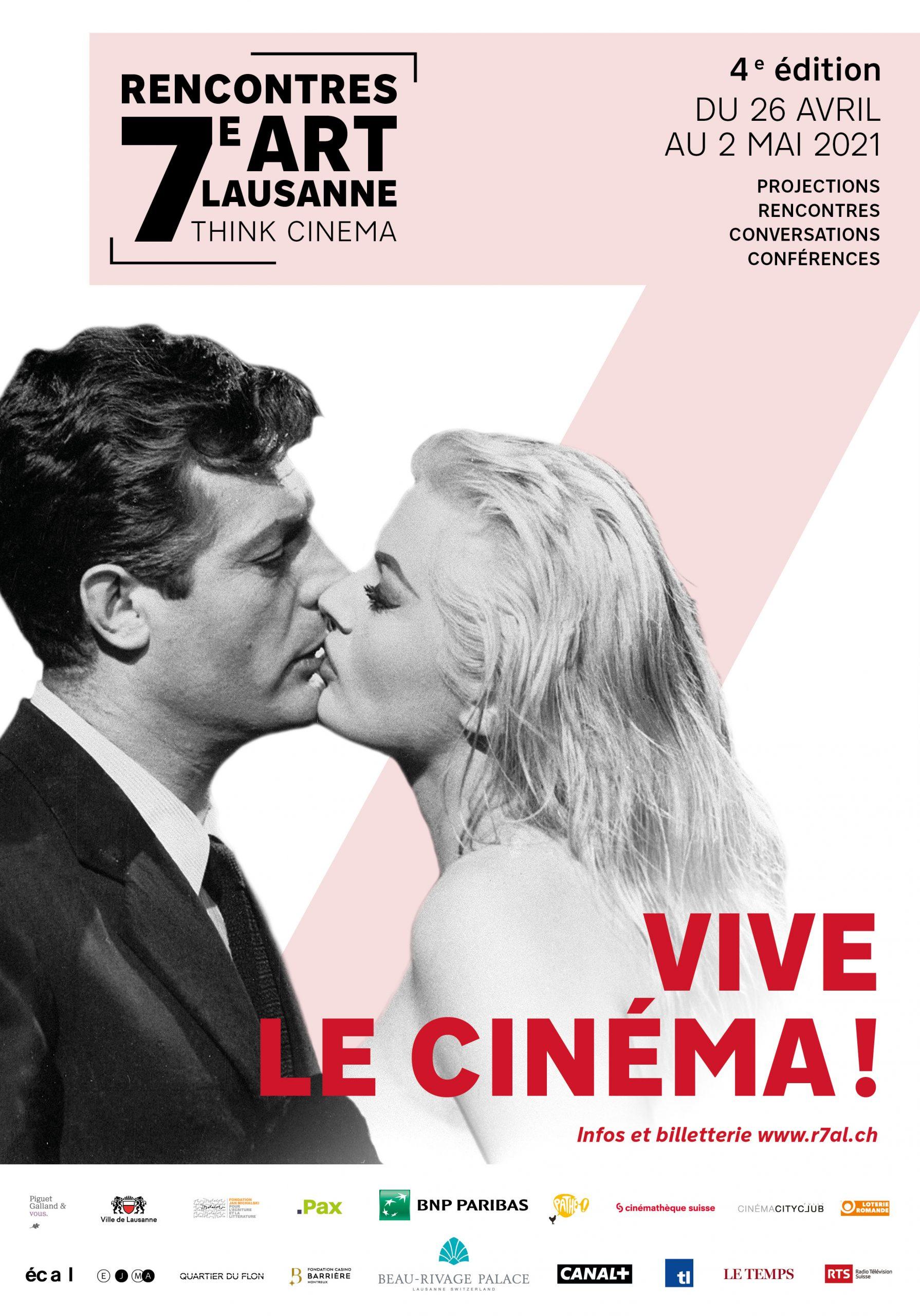 Rencontres 7ème art Lausanne : 4ème Éditions 26 avril- 2 mai 2021
