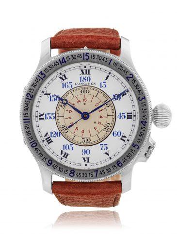 Longines_Lindbergh Hour Angle Navigator's watch (est. CHF £30,000 - 50,000)