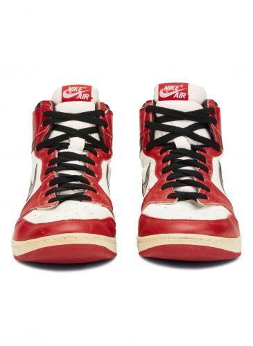 pair of Michael Jordan Air Jordan 1s