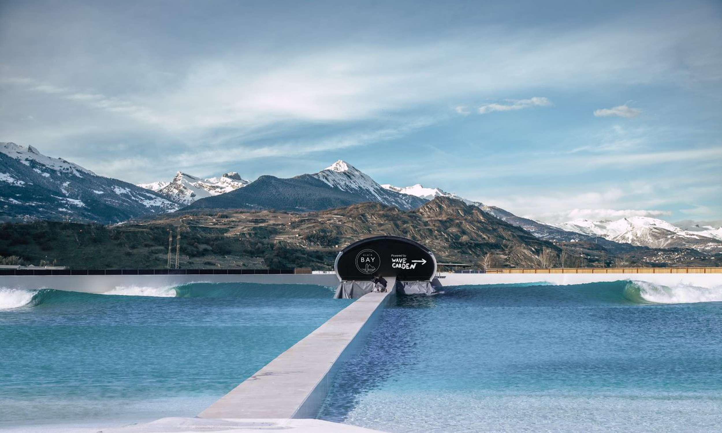 Alaïa Bay, un nouveau paradis suisse des surfeurs !